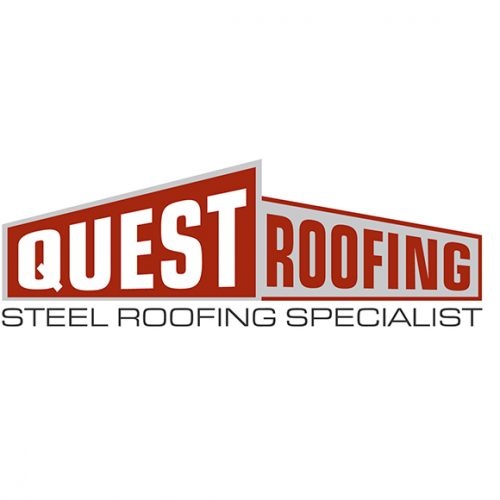 The Creative Parrot Logo Design - Quest Roofing